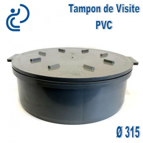 Tampon De Visite Pvc D315 M