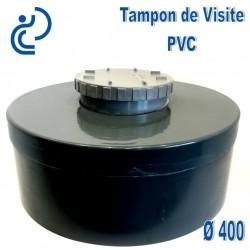 TAMPON DE VISITE PVC D400 M