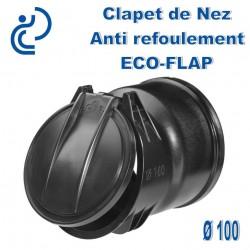 Clapet de Nez Anti refoulement ECOFLAP D100