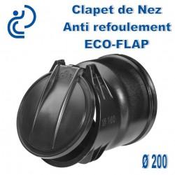Clapet de Nez Anti refoulement ECOFLAP D200
