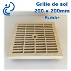 GRILLE DE SOL 20x20 SABLE