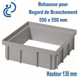 Rehausses PP de regard 55 x 55