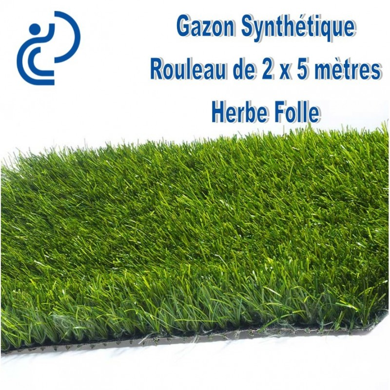 gazon synth233tique quotherbe follequot rouleau de 2mx5m