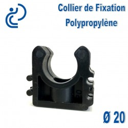 Collier de Fixation D20 Polypropylène