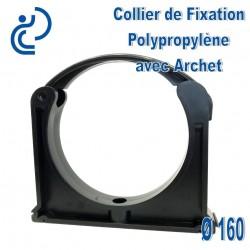 Collier de Fixation D160 Polypropylène avec archet