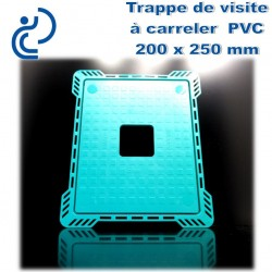 TRAPPE DE VISITE A CARRELER EN PVC 20x25