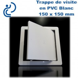TRAPPE DE VISITE EN PVC BLANC 15x15