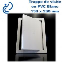 TRAPPE DE VISITE EN PVC BLANC 15x20