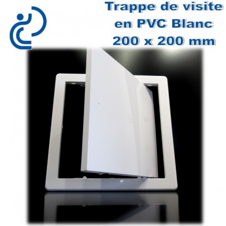 TRAPPE DE VISITE EN PVC BLANC 20X20