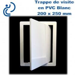 TRAPPE DE VISITE EN PVC BLANC 20x25