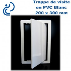 TRAPPE DE VISITE EN PVC BLANC 20x30