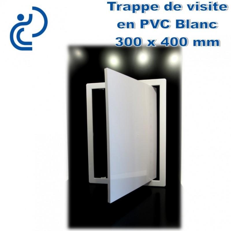 trappe de visite en pvc blanc 30x40. Black Bedroom Furniture Sets. Home Design Ideas