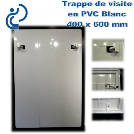 TRAPPE DE VISITE EN PVC BLANC 40x60
