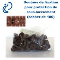 Boutons de montage pour Protection de Sous Bassement (sachet de 100)