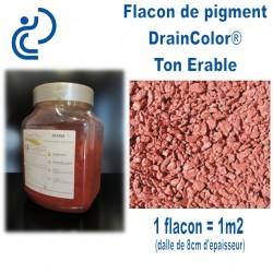 Couleur Erable pour Béton Coloré Drainant DRAINCOLOR (flacon prédosé)