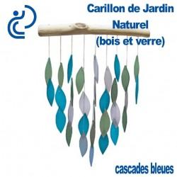 Carillon de Jardin Naturel Cascades Bleues