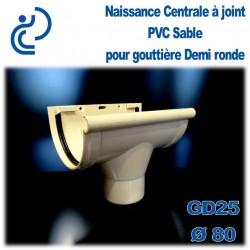 NAISSANCE CENTRALE A JOINTS EN PVC SABLE POUR GD25