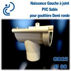 NAISSANCE GAUCHE A JOINT EN PVC SABLE POUR GD25