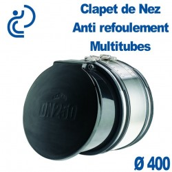 Clapet de nez Anti refoulement Multitube D400