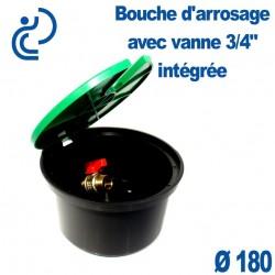 """Bouche d'Arrosage avec Vanne 3/4"""" intégrée"""