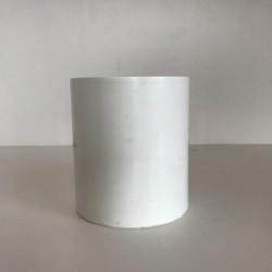 MANCHON GOUTTIERE PVC BLANC