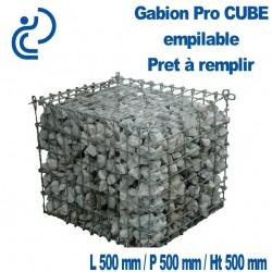 GABION PRO CUBE empilable 50x50x50