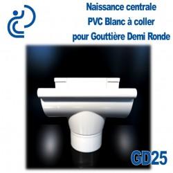 NAISSANCE CENTRALE A COLLER EN PVC BLANC POUR GD25