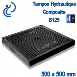 TAMPON HYDRAULIQUE COMPOSITE 500X500 B125