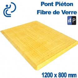 PONT PIETON FIBRE DE VERRE 1200X800