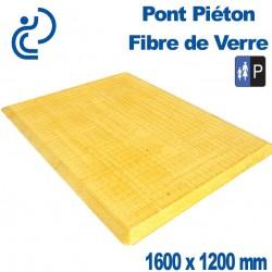 PONT PIETON FIBRE DE VERRE 1600X1200
