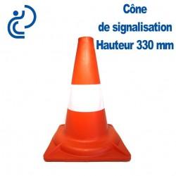 CONE DE SIGNALISATION Hauteur 330