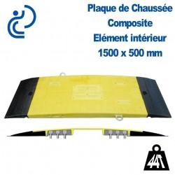 Plaque de Chaussée (passe tranchée) 1500x500mm Élément intérieur Droit
