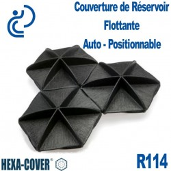 Couverture de Réservoir Flottante Auto-Positionnable HEXA COVER R90