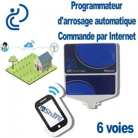 PROGRAMMATEUR ARROSAGE INTERNET 6 Zones 8250EZ Pro