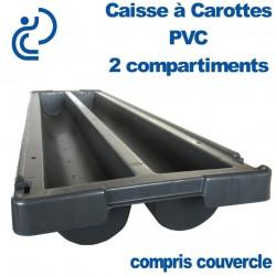 Caisse à Carotte 2 compartiments + couvercle