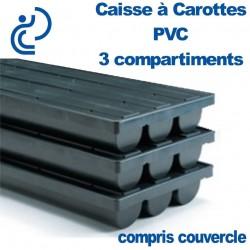 Caisse à Carotte 3 compartiments + couvercle