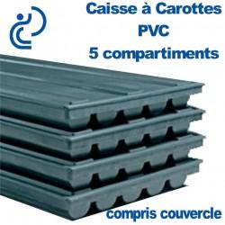 Caisse à Carotte 5 compartiments + couvercle