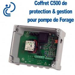Coffret de Protection / Gestion pour pompe de forage C500