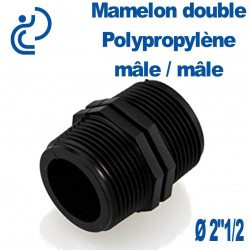 "MAMELON DOUBLE PP 2""1/2 MM"