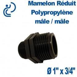 """MAMELON REDUIT PP 1""""X3/4"""" MM"""