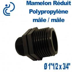 """MAMELON REDUIT PP MM 1""""1/2x3/4"""""""