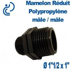 """MAMELON REDUIT PP MM 1""""1/2x1"""""""
