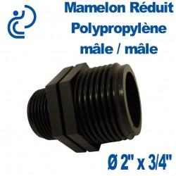 """MAMELON REDUIT PP MM 2"""" X 3/4"""""""