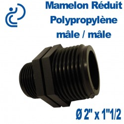 """MAMELON REDUIT PP MM 2"""" X 1""""1/2"""