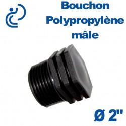 """Bouchon Polypropylène 2"""" Mâle"""