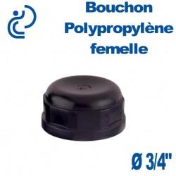 """Bouchon Polypropylène 3/4"""" Femelle"""
