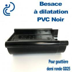 Besace de Dilatation Noire pour GD25
