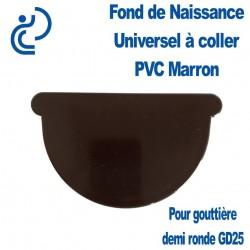FOND DE NAISSANCE UNIVERSEL EN PVC MARRON
