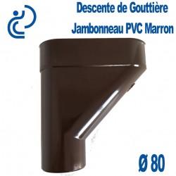 Jambonneau PVC marron D80