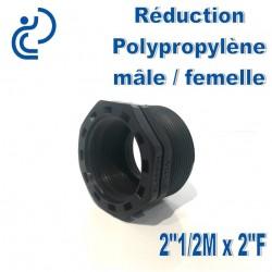 "Réduction Polypro 2""1/2 Mâle x 2"" Femelle"